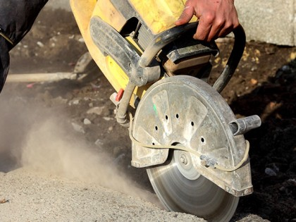 Concrete Cutting part 2: A Job Strictly for Professionals